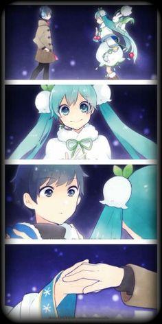 Snow Miku and Kaito (Snow Fairy Story) part 2 / 5