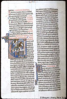 Bible, MS M.109 fol. 50v - Images from Medieval and Renaissance Manuscripts - The Morgan Library & Museum