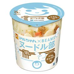 マルちゃん×BEAMSヌードル部 <クラムチャウダー味> - 食@新製品 - 『新製品』から食の今と明日を見る!