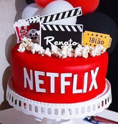 Funny Birthday Cakes, 13 Birthday Cake, Birthday Cakes For Teens, 13th Birthday Parties, Funny Cake, Cake Pops, Bolo Tumblr, Starbucks Birthday, Movie Cakes
