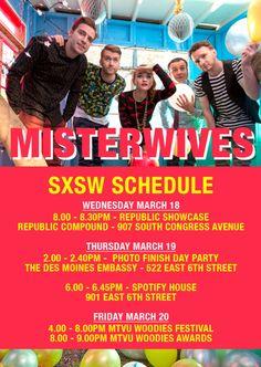 MisterWives @ SXSW #RepublicSX Indie Pop