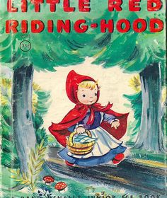1950's Little Red Riding Hood