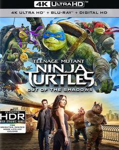 Teenage Mutant Ninja Turtles: Out of the Shadows [4K Ultra HD Blu-ray/Blu-ray] [2016]