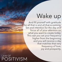 Wake up from the illusion that you don't have or are enough. Send out the vibes that you want to see more of and have a prosperity and abundance mindset instead of lack mindset. We have much more than we realize and everyday is a good day to be grateful #gratitude #begrateful #prosperitymindset #abundancemindset #lawofpositivism #meditation #dailyaffirmations #astrology #numerology #111 #1111 #444 #222 #mindful #mindfulness #positiveenergy #lawofattraction #positiveaffirmations #yoga…