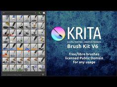 Krita brushes v6 - David Revoy