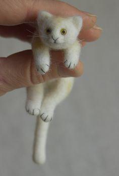 Felted Kitten