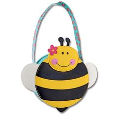 Stephen Joseph Girls Go Go Purse, Bee, One Size - - Fun shapes purses bring a smile to any little girls face Made of our popular Go Go Bag materi Go To The Cinema, Go Bags, Applique Designs, Mens Gift Sets, Baby Clothes Shops, Mom And Dad, Baby Shop, Pumps Heels, Joseph