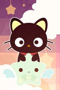 chococat.Hi followers or people that are just looking for good people that want good ideas to put on their board if you follow me I will follow some of you so hope you get luck.