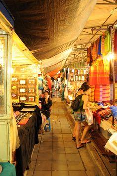 Chaing Mai Night Bazaar