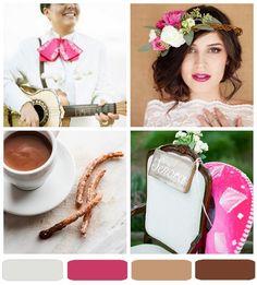 { pretty palette } rosa + mexican chocolate