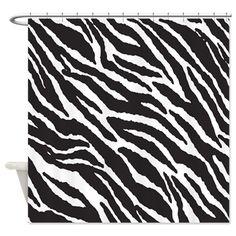 Black and white zebr