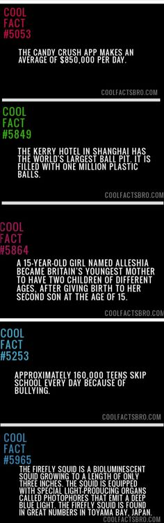 Facts for your entertainment // funny pictures - funny photos - funny images - funny pics - funny quotes - Wtf Fun Facts, Funny Facts, Random Facts, Crazy Facts, You Dont Say, Did You Know, The More You Know, Good To Know, Funny Images