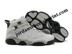 Air Jordan Six Rings Shoes White/Black For Sale