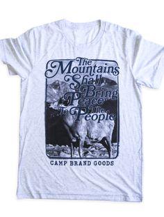 RADIUM T SHIRT | TRI WHITE, $39.99 by Camp Brand Goods