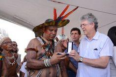 ÍNDIOS POTIGUARA DA PARAÍBA EM FOCO: Polícia Militar condecora indígenas com medalha de...