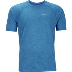 Marmot Accelerate Shirt New True Blue Heather XXL