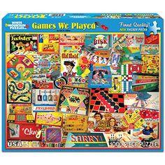 White Mountain Puzzles The Games We Played - 1000 Piece Jigsaw Puzzle White Mountain Puzzles http://www.amazon.com/dp/B008DVR2F4/ref=cm_sw_r_pi_dp_NQwaxb1SCAZMG