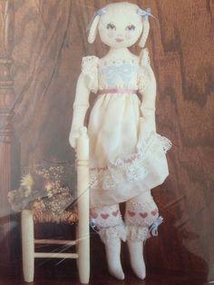 Sunset Stitchery Emily Doll Making Kit #2867 Designed by Lorna McRoden - NEW #SunsetStitchery