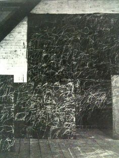 Cy Twombly's Studio Photograph By Robert Rauschenberg