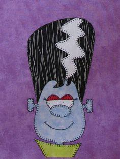 happy halloween quilt pattern by amy bradley