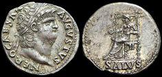 Impero Romano - Nerone (54-68 d.C.), Denario, c. 64-66 d.C.,