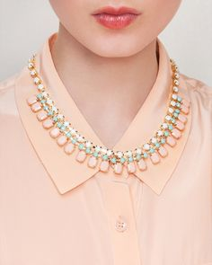 I have this necklace and wear it about four times a week #jewelmint