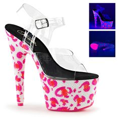 Pleaser SHOES & BOOTS : Platforms (Exotic Dancing) : Specialty Collection