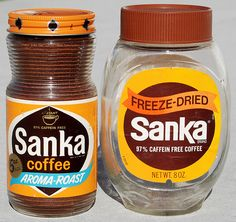 My Grandma Connie Used to Make Me Sanka Coffee. Okay it was mostly milk...but I thought I was so cool.