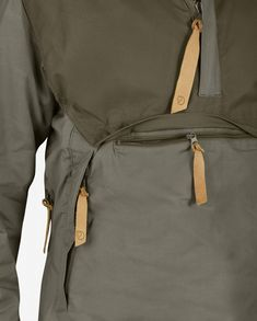 The Fjallraven Numbers range are the pinnacle of Fjallravens outdoor range The No 8 Anorak is made from 2 different materials that are not only Outdoor Range, No 8, Kangaroo Pouch, Winter Months, High Collar, Neck Warmer, Put On, Perfect Fit, Organic Cotton
