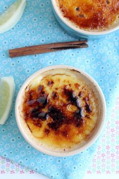 Leite Creme (Portuguese creme brulee) - just need a blowtorch or broiler
