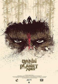Before the Dawn of the Apes: Vídeos y carteles virales de 'El amanecer del planeta de los simios' - El Séptimo Arte