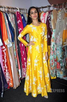 Shraddha Kapoor at a launch event at the IMC Ladies' Wing Exhibition. #Bollywood #Fashion #Style #Beauty #Desi