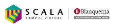 Logo Scala Campus Virtual Blanquerna, 2015. #design #university #Blanquerna