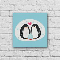Purchase Penguin Family from Oubly on OpenSky. Canvas Art Prints, Family Canvas Print, Cute Art, Family, Art, Canvas Art, Family Canvas
