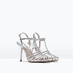 SANDÁLIA ABERTA TACÃO - Ver tudo - Sapatos - MULHER | ZARA Portugal