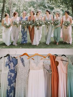 The more mismatched,the better! | photos by Jamie Mercurio Photography