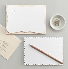 scalloped card stock by sugar paper la