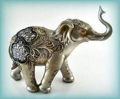 fancy elephant decor