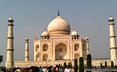 Monument Series: The Taj Mahal - Epitome of Love