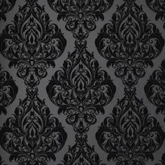 Graham & Brown 56 sq. ft. Kinky Vintage Black Wallpaper-50-223 at The Home Depot