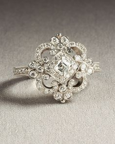 Custom Made  REMAKE of the following ring  by BeautifulPetra, $1,999.00