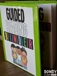 Rowdy in Room 300: Guided Reading FREEBIE!