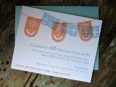 papel picado invitations