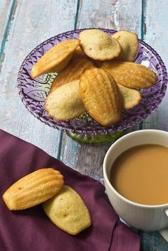 Mango Madeleines are deceptively easy to make, and so lovely for tea time.