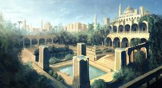 Hanging Gardens of Babylon from Prince of Persia: The Two Thrones