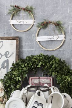 MichaelsMakers  AKA Design Merry Christmas DIY embroidery hoop wreaths how to