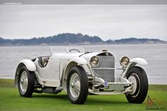 The Mercedes-Benz SSK was a logical extension of the short S and the super-short SS models. It had a engine, with a Kompressor, or supercharger, a. Mercedes Classic Cars, Mercedes Car, Maserati 3200 Gt, Vintage Trucks, Hot Cars, Motor Car, Cars And Motorcycles, Corvette, Antique Cars