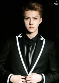 [140622] Sehun (EXO) New Picture for Overdose Postcard @ POP-UP Store (Scan) by OliV_xoxo