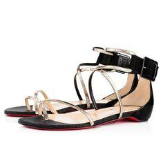Antigua Bay Flat - Red Bottom Christian Louboutin Shoes