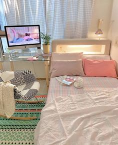Army Room Decor, Cute Bedroom Decor, Study Room Decor, Room Design Bedroom, Room Ideas Bedroom, Small Room Bedroom, Pastel Room, Indie Room, Minimalist Room